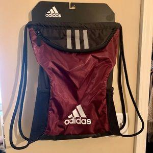NWT adidas drawstring backpack